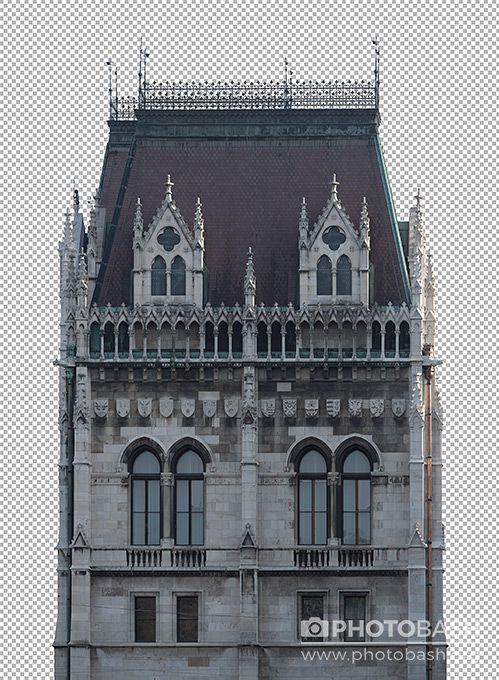 تصاویر کات اوت ساختمان گوتیک