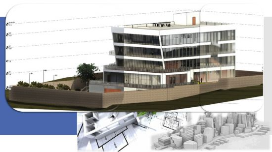 آموزش طراحی ساختمان اداری در رویت