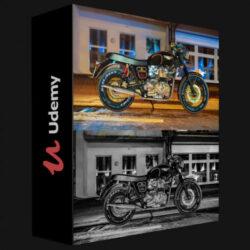 آموزش رندرینگ موتور سیکلت در اسکچاپ با vray