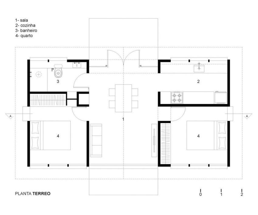 طراحی خانه برزیلی