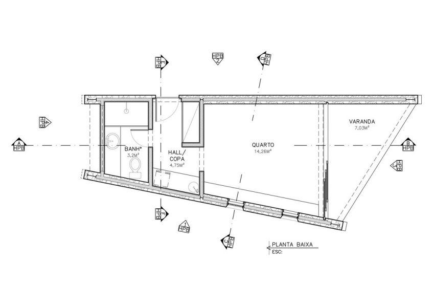 طراحی 21 خانه برزیلی زیر 100 متر مربع