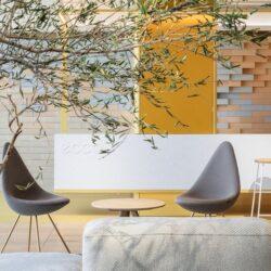 طراحی داخلی دفترکار ECCO در چین
