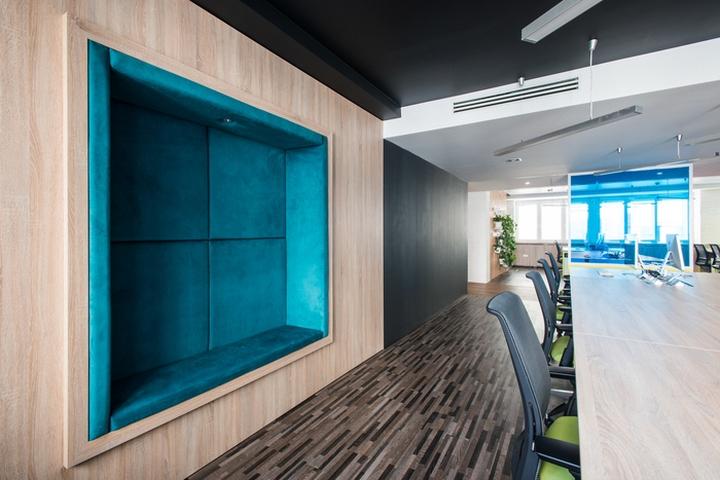 طراحی دفتر کار شرکت تولید نرم افزار