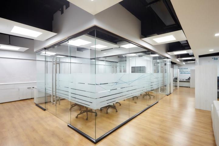 طراحی داخلی شرکت فناوری