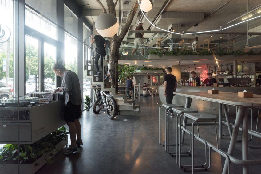 طراحی کافه وگان