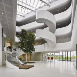 طراحی دفتر شرکت محصولات لبنی در هلند