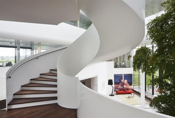 طراحی دفتر شرکت محصولات لبنی