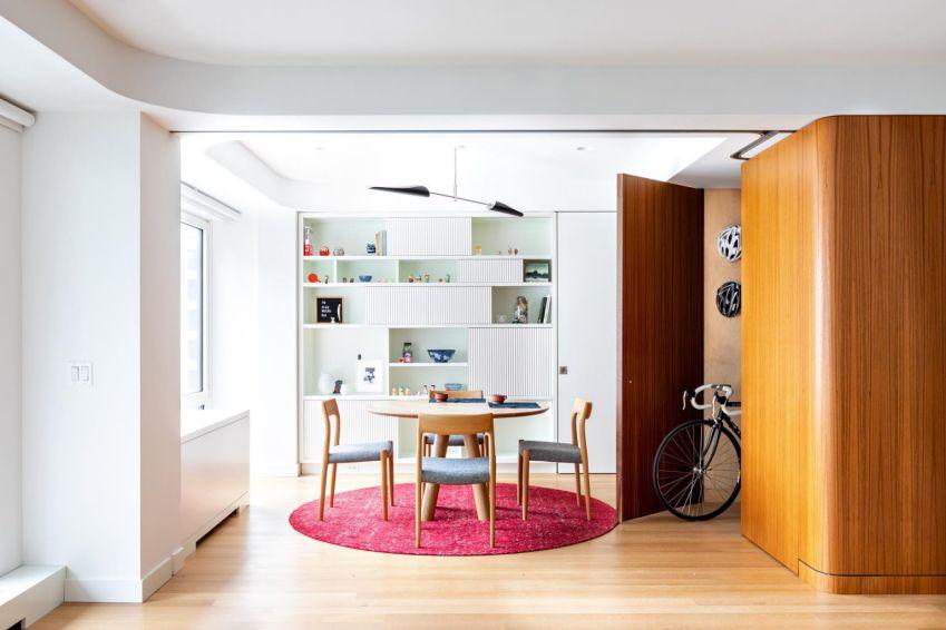 مکعب چوبی در دکوراسیون آپارتمان