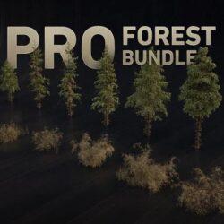 دانلود دارایی جنگل آماده از Gumroad