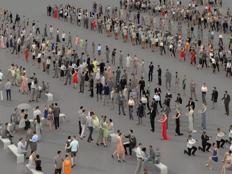 آبجکت جمعیت مردم