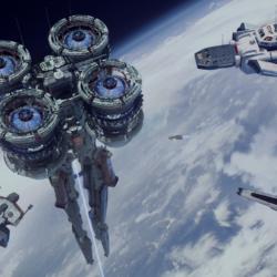 دانلود مدل سه بعدی فضاپیما