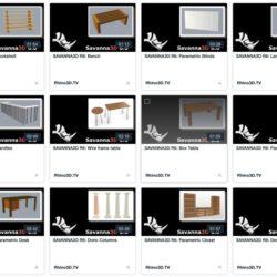 دانلود مدل سه بعدی معماری برای راینو