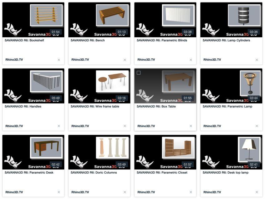 مدل سه بعدی معماری برای راینو