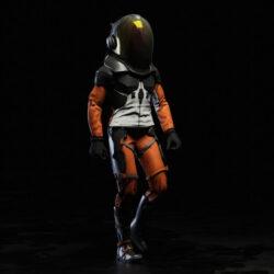 دانلود مدل سه بعدی فضانورد برای کانسپت آرت