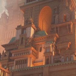 دانلود مدل سه بعدی ساختمان نئوکلاسیک