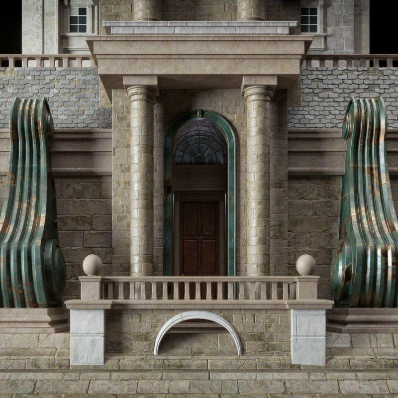 آبجکت ساختمان تاریخی
