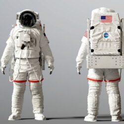 دانلود مدل سه بعدی کاراکتر فضانورد ناسا