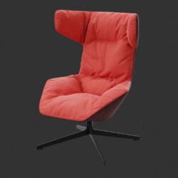 دانلود مدل سه بعدی مبلمان و صندلی راحتی