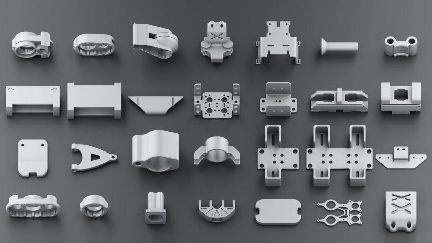 مدل سه بعدی صنعتی