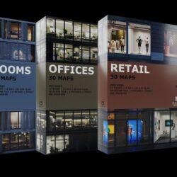 دانلود مدل سه بعدی داخلی و خارجی