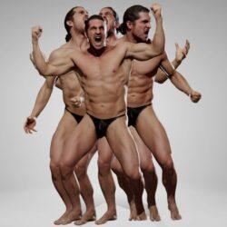 دانلود مدل سه بعدی حرکت های خشم مردانه