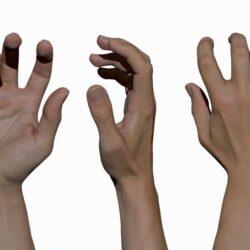 دانلود مدل سه بعدی دست مردانه