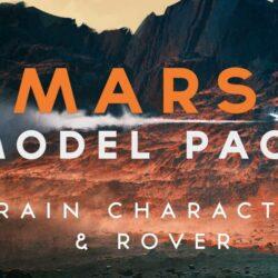 دانلود مدل سه بعدی منظره مریخی