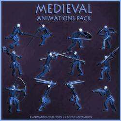 دانلود مدل سه بعدی انیمیشن قرون وسطایی