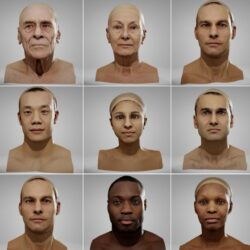 دانلود مدل سه بعدی کاراکتر انسان