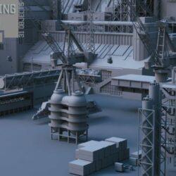 دانلود مدل سه بعدی تزئینات علمی تخیلی