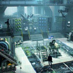 دانلود مدل سه بعدی آزمایشگاه مخفی