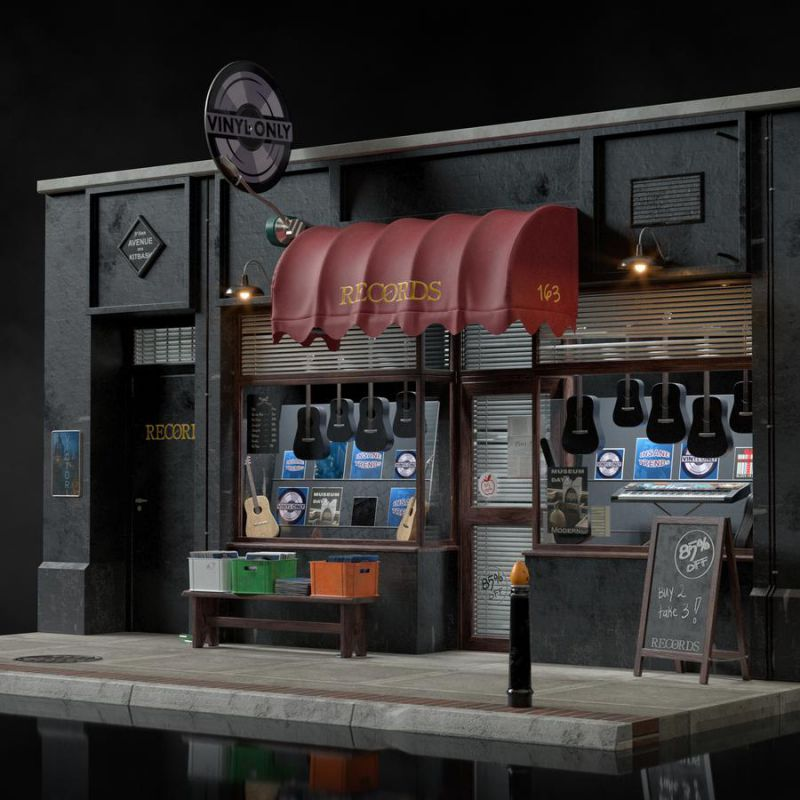 آبجکت ویترین فروشگاه