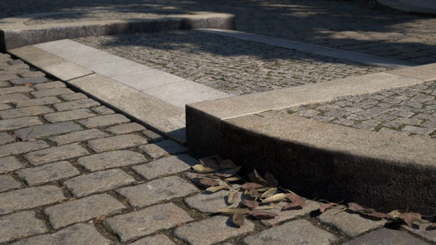 مدل سه بعدی اجزای خیابان