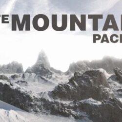 دانلود آبجکت کوه برای سینمافوردی