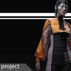 دانلود مدل سه بعدی لباس زنانه