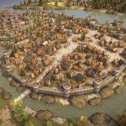 دانلود مدل سه بعدی شهر قرون وسطایی
